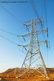 Электрическая передающая линия башня стали решетки