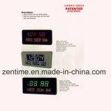 ホームおよび屋外のためのアークフレームが付いている多彩なデジタル大きいLED柱時計