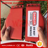 Seguridad con válvula de Cerrado a cabo bloqueos de dispositivos
