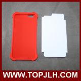 iPhone 6/6s를 위한 3D TPU+PC 승화 전화 상자 플러스