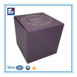 Caja de cartón de encargo del papel de la insignia para el chocolate de empaquetado