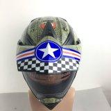 Moda Novo projetado Cross DOT Casco Casco Capacete de plástico para motocicleta