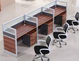 Poste de travail en bois de bureau de Tableau d'ordinateur de meubles de bureau de tailles importantes (HX-NCD385)