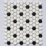 белая керамическая мозаика 48by48