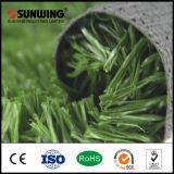 Grama falsificada do gramado do campo de jogos do futebol para campos de esportes