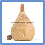 Sac de papier matériel neuf de sac à dos de sport en plein air de Dupont de modèle populaire, sac de papier mince de sac à dos de messager de Tyvek de promotion avec la courroie réglable
