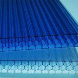Xinhaiのプラスチック蜜蜂の巣のポリカーボネートは熱絶縁体シートの温室にパネルをはめる