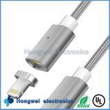 인조 인간과 iPhone를 위한 1개의 자석 OTG USB 케이블에 대하여 보편적인 전화 2