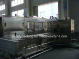 Auotatic 19リットルのバレルの飲み物水洗浄に1台の機械に付き3台をキャップすること満たし、