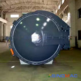 autoclave composta aprovada do CE de 2000X8000mm para a fibra do carbono da ligação (SN-CGF2080)
