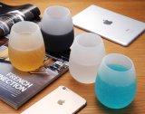 접을 수 있는 실리콘 맥주 위스키 컵