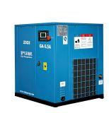 Tipo stazionario fabbricazione di gestione commerciale del compressore 5.5kw della vite di aria di Oilless