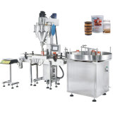 Máquina de rellenar de soja del cartón semi automático de la leche