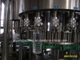 Cadena de producción de relleno del agua de vector