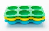 Nahrungsmittelgrad-fördernde Silikon-Eis-Form, Silikon-Eis-Kugel-Tellersegment