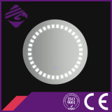 Jnh203 Date Salle de bain Design Round LED Mirror Centerpiece verre