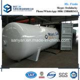 10t réservoir de stockage normal horizontal d'OIN ASME LPG