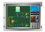 """Nl6448bc26-26c 8.4 """"産業使用のためのVGA LCDのモジュール"""