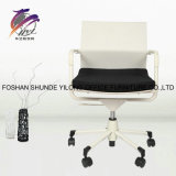 Handelsqualitäts-weiße Farben-einfacher MITTLERER rückseitiger Ineinander greifen-Büro-Stuhl