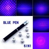 6 In1 5MW de Pen van de Rode Groenachtig blauwe LEIDENE Wijzer van de Laser