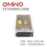 Wxe-145s-48 145W 48V Stromversorgung für LED-Bildschirmanzeige-industrielles Gerät