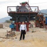 Vertikaler Welle-Prallmühle-Felsen, der Geräten-Granit-Pflanzenmaschine zerquetscht