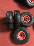 10X350-4 Maxtop 압축 공기를 넣은 고무 바퀴