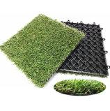 인공적인 뗏장을 맞물리는 조경 또는 정원을%s