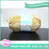 Vente en gros de tricot Fancy Sequin Weaving Gold Thread
