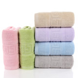 Полотенце ванны хлопка 100% чисто, покрашенное полотенце абсорбциы воды