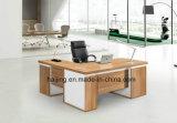 Escritorio de oficina de madera ejecutivo de la venta de los enchufes de fábrica de los nuevos muebles exclusivos industriales barato modulares calientes del estilo