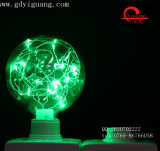 Green Star LED Bombillas de alambre de cobre material especial luz G95colorful