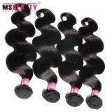 Weave brasileiro do cabelo do vison barato do cabelo de Msbeauty Remy