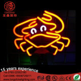 Impermeable Flexible LED Neon Sign amarillo Duck Cartoon luz para la decoración de la tienda de fiesta