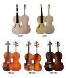 Обмундирование скрипки студента отделки саги музыкальной аппаратуры для сбывания