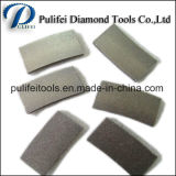 Segment van het Blad van het Graniet van het Hulpmiddel van de diamant het Scherpe voor Concrete Marmeren Mijnbouw