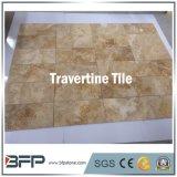 Mattonelle beige del marmo del travertino dei lastricatori del travertino di prezzi di Lowes per la stanza da bagno