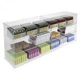 Étalage acrylique d'étalage d'allumeur avec des étagères de 4 couches