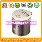 Runder Verpacken- der Lebensmittelmetallkaffee-Zinn-Behälter