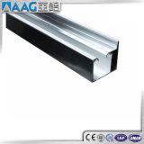 Profilo di alluminio su ordinazione del blocco per grafici di portello dell'acquazzone