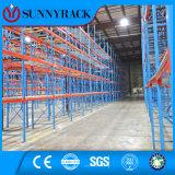 Prateleira vertical elevada do armazenamento do metal da utilização do espaço