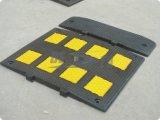 Schwarzer u. gelber Gummi-Buckel der Straßen-2feet