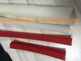 Correa redonda sólida de la PU del poliuretano de /V lisa con la ISO