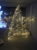 LED 3D 콘 주제 커튼 빛 크리스마스 훈장