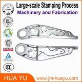 Металлический лист OEM штемпелюя части, часть изготовления алюминиевого сплава точности для зодчества