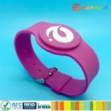 Регулируемый браслет Wristband пригодности 13.56MHz MIFARE 1K франтовской RFID гимнастики