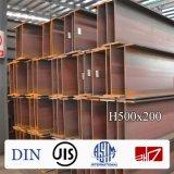 Acier de poutre en double T d'ASTM A572/572m gr. 50 300*150*6.5*9mm