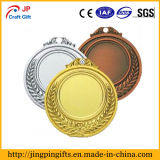 Medaglia d'argento antica del ricordo di Champiom con il nastro