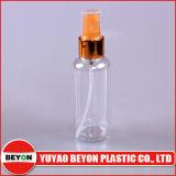 botella plástica redonda cosmética del animal doméstico 70ml con el cuentagotas del metal (ZY01-B014)