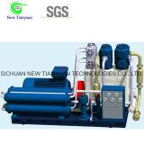1.9-8MPa Gasdruck-aufladender kolbenartiger Gas-Kompressor